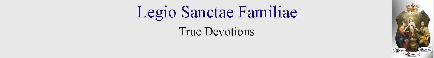 Legio Sanctae Familiae