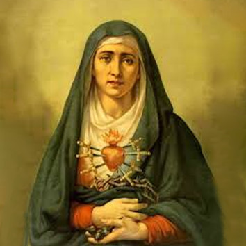 Article 48 – Marriage! Our Lady of Sorrows