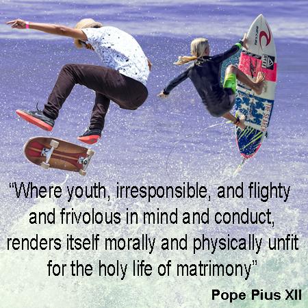Modesty, Frivolous Youth, Immodesty
