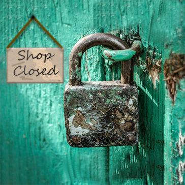 Online Shop Closes