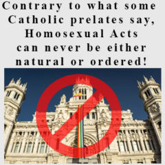 Article 89 – Normalising Homosexual Acts